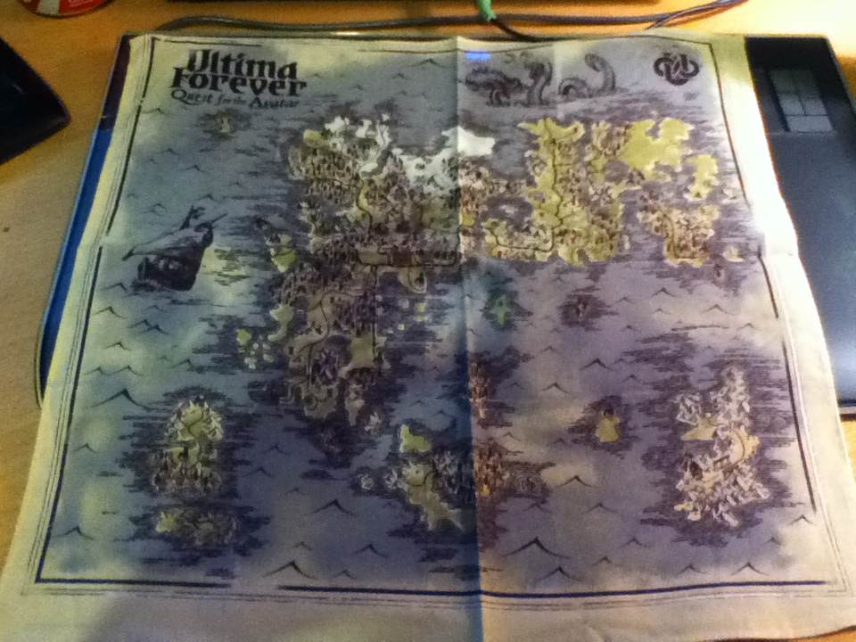 Ultima Forever cloth map